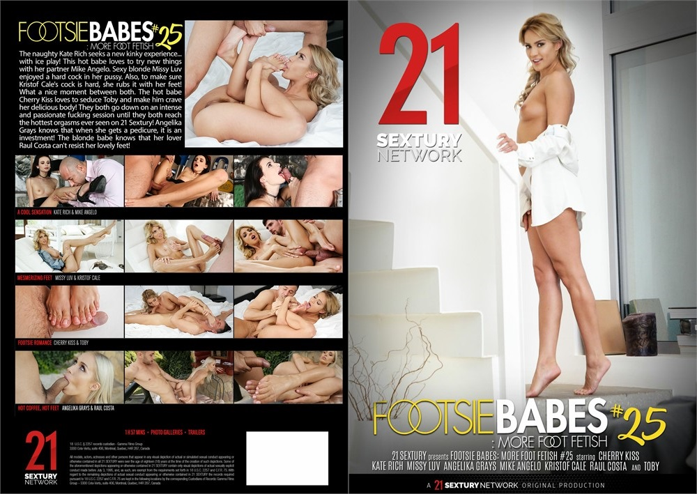 Footsie Babes: More Foot Fetish 25 (2021)